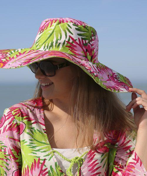 flamingo hat and tunic