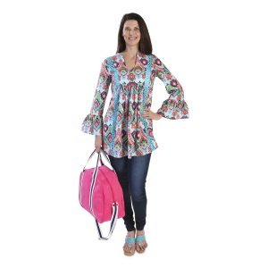 boho is taking over, this moroccan roll tunic is trendy and comfortable, the best of both!