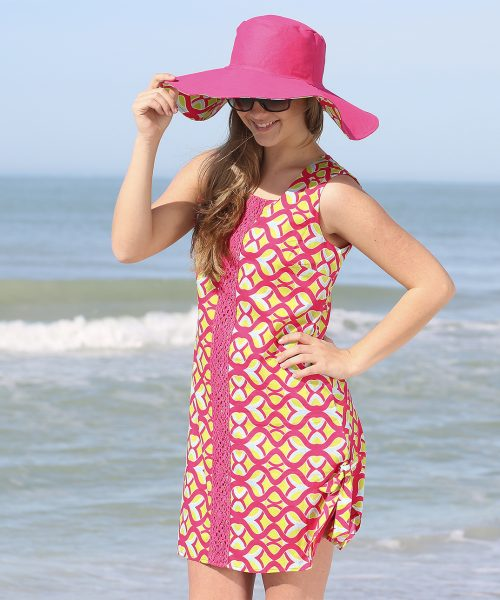tango twist pink addison dress