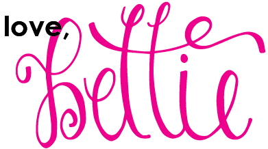 love, bettie blog