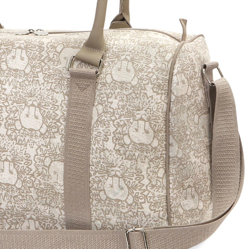 lion around khaki eva medium duffle