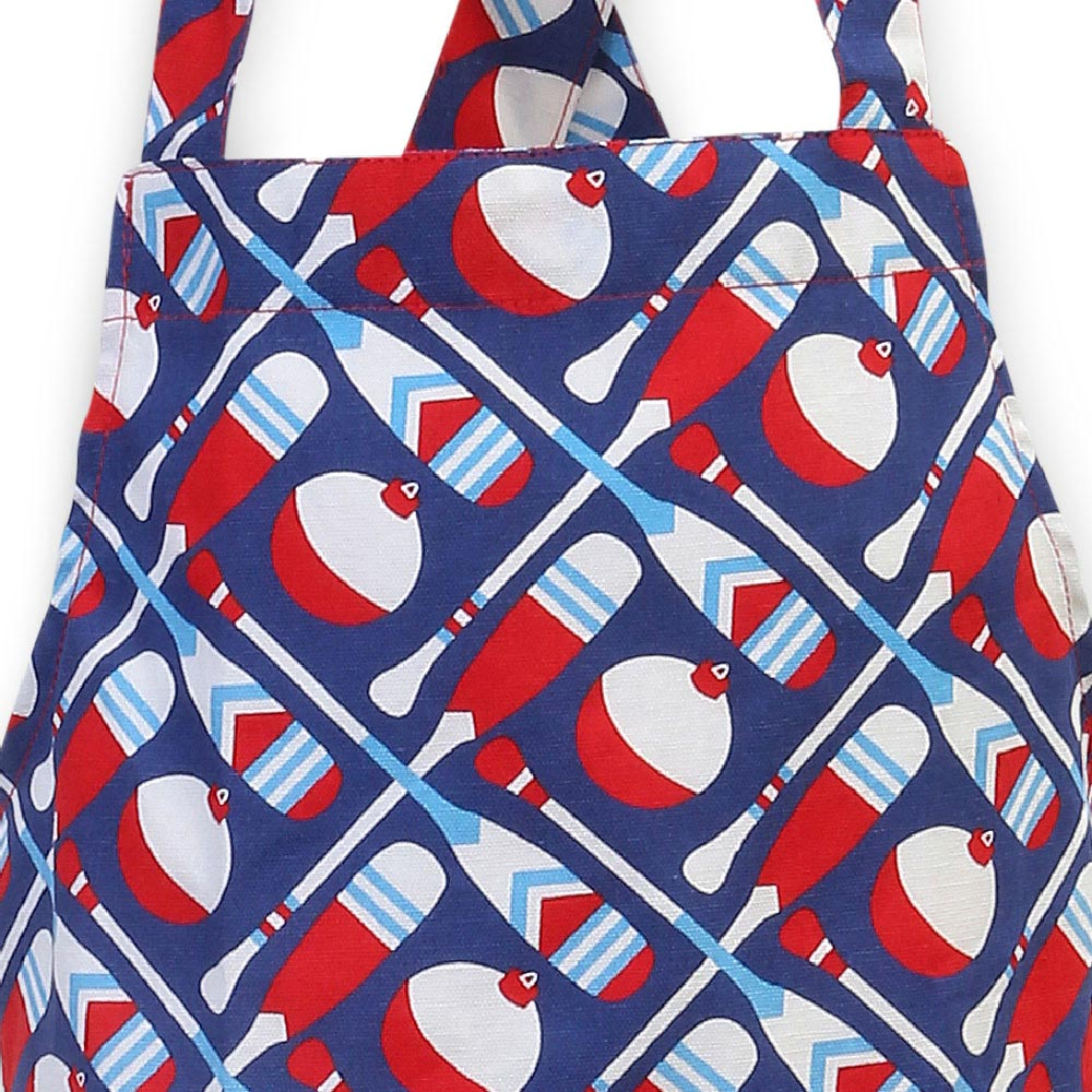 up a creek kids apron