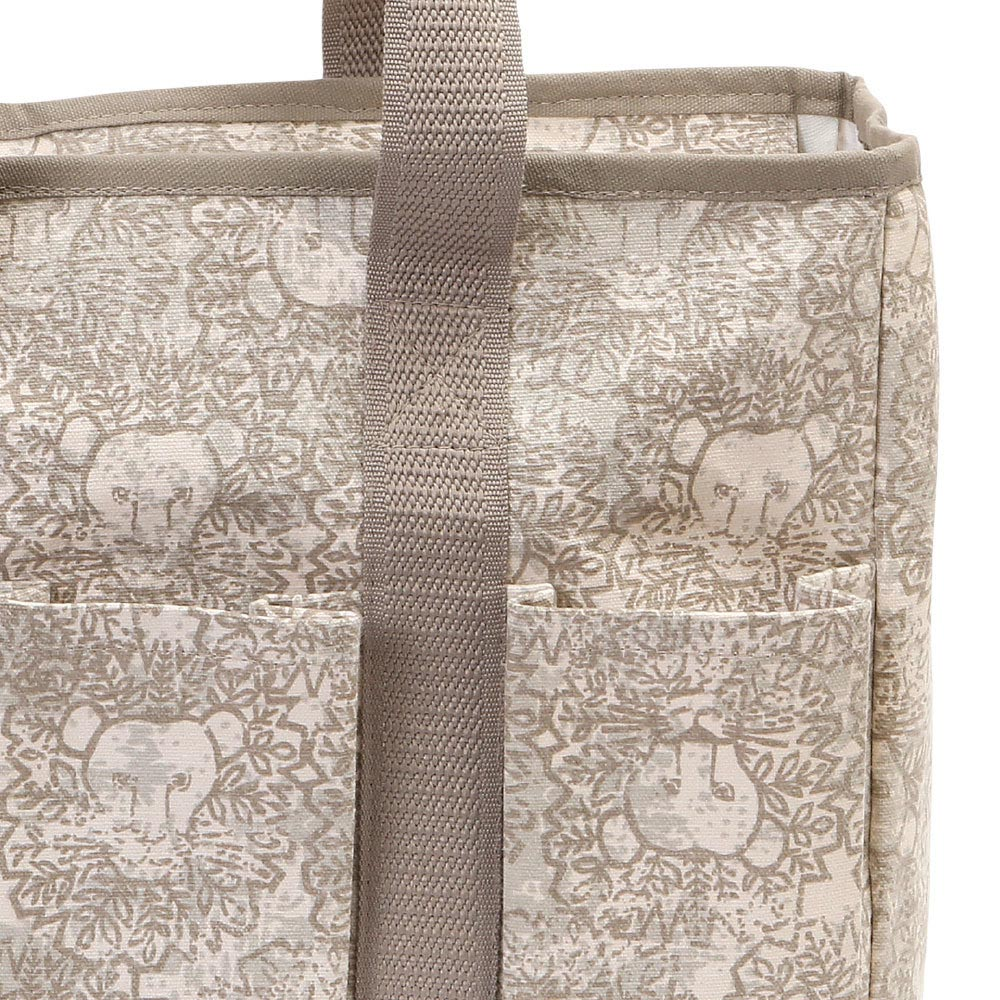 lion around khaki everyday tote