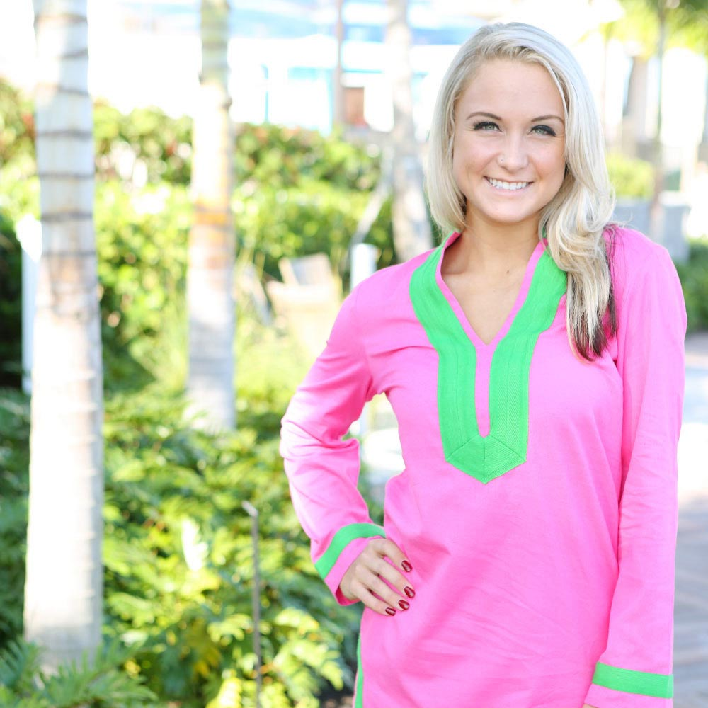 pink piper tunic