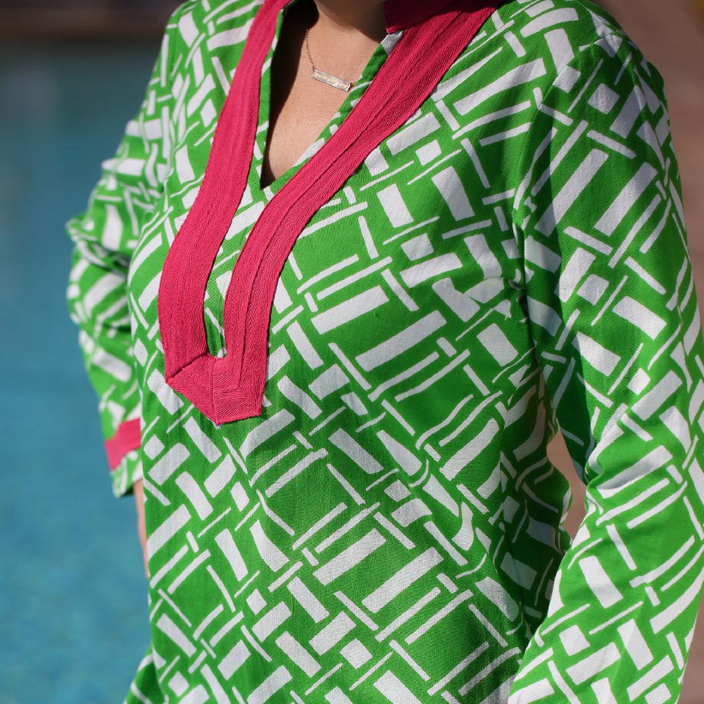 key largo green piper tunic