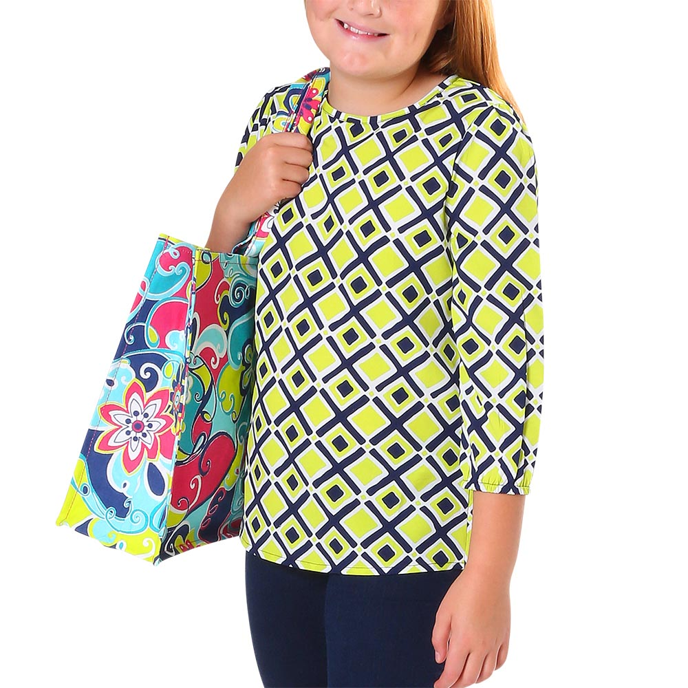 times square lime chloe kids shirts