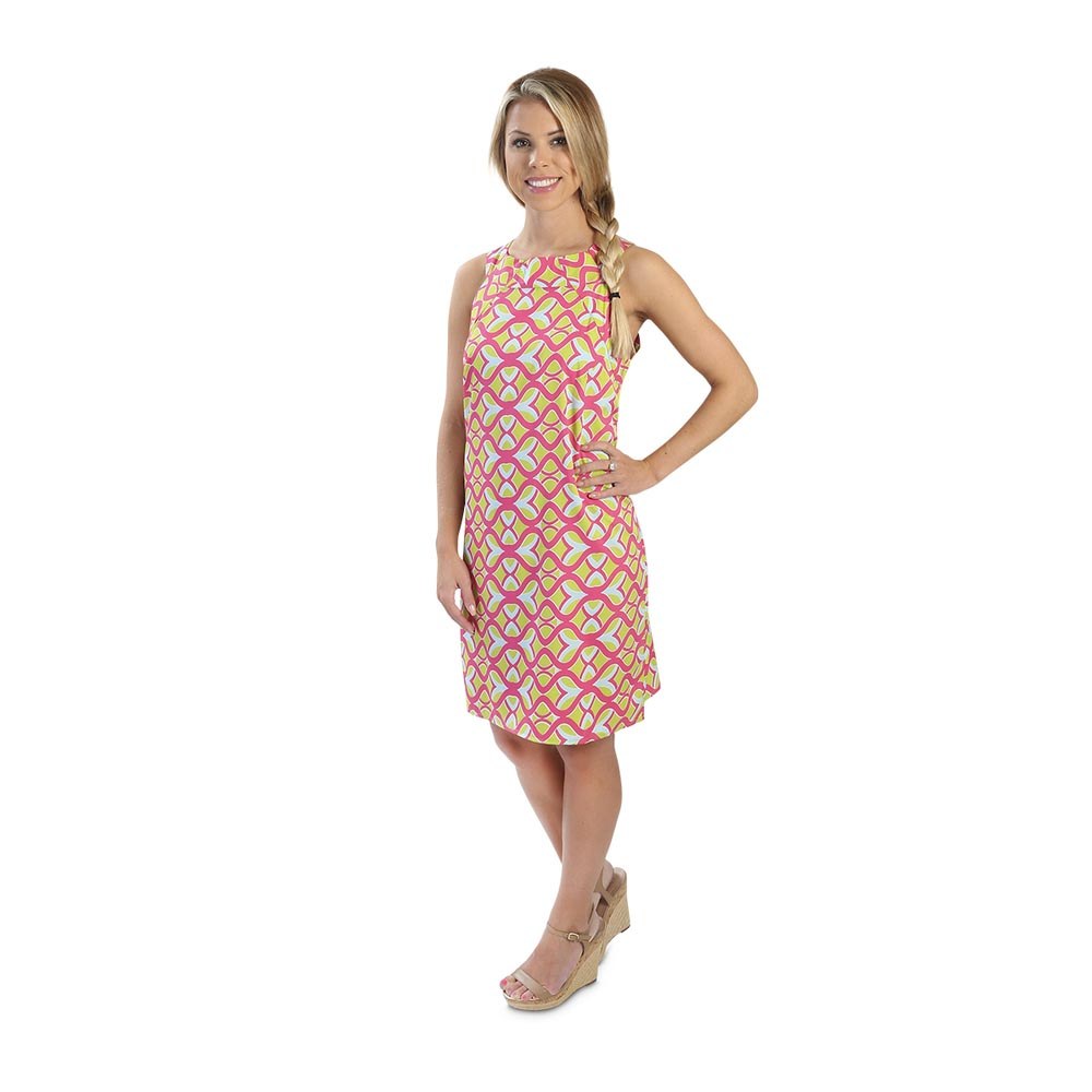 tango twist pink camilla dress