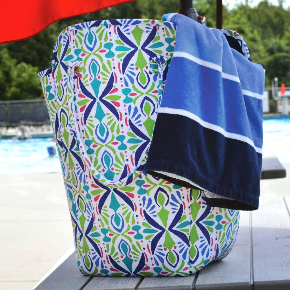 a little off tropic EVA heavy weight tote