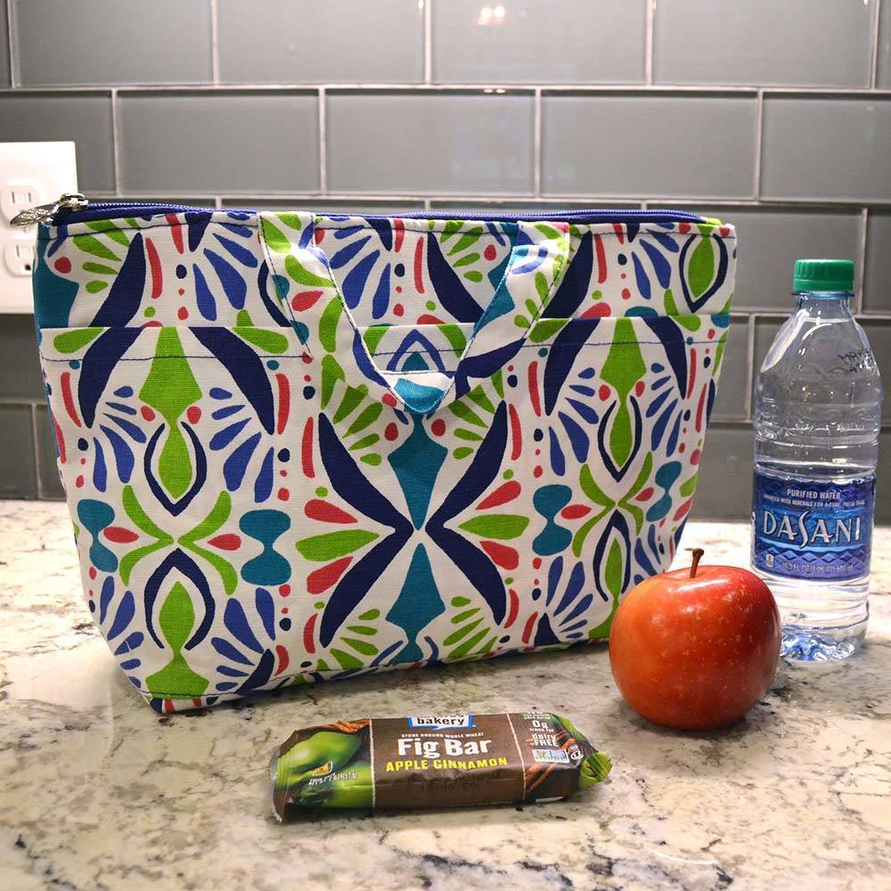 a little off tropic lunch tote