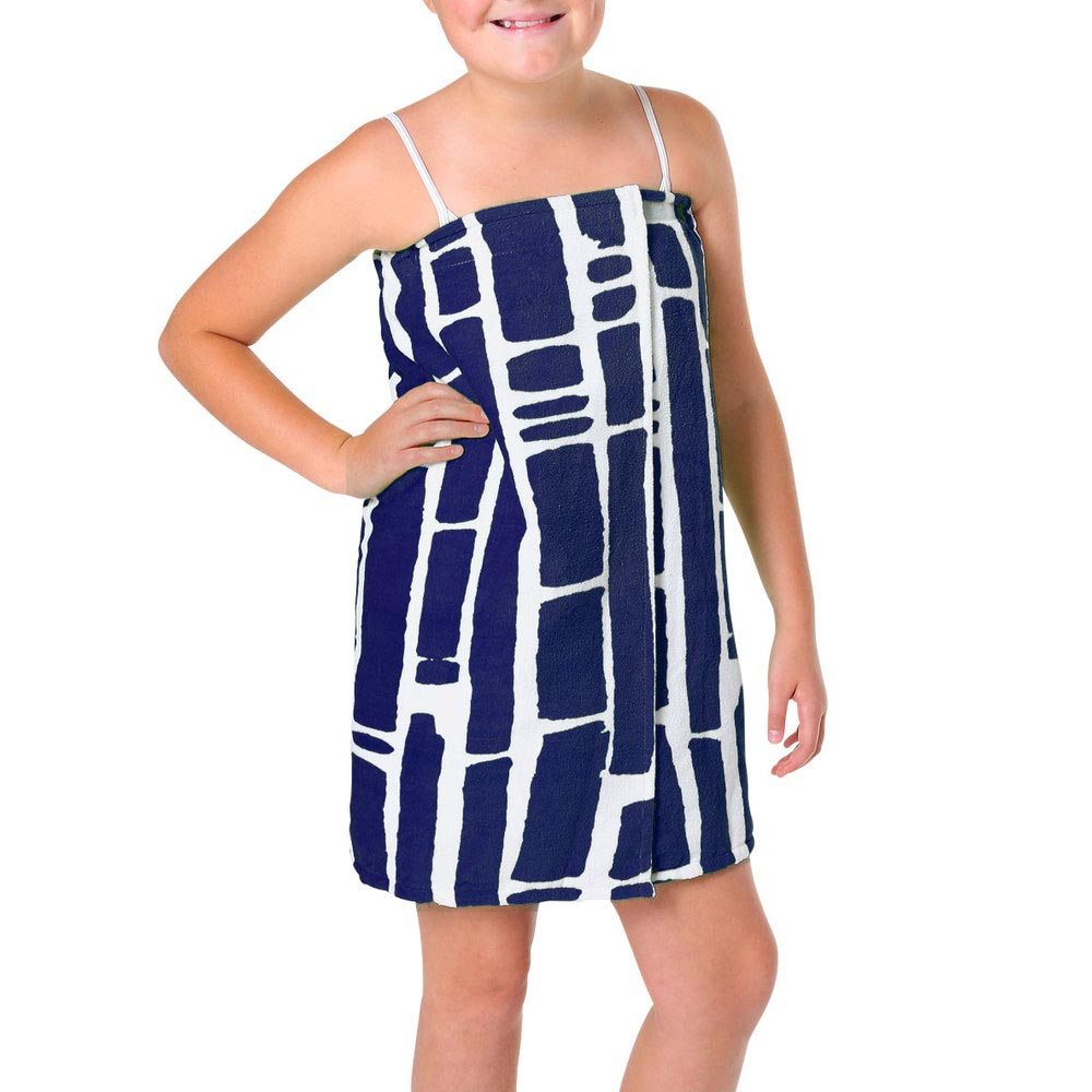 bamboo navy tween wrap