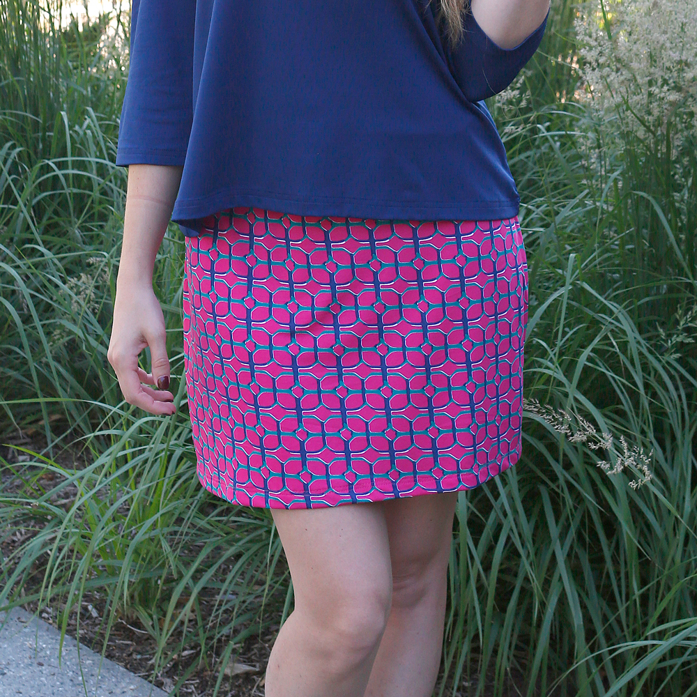 maze runner willow poly-knit skirt