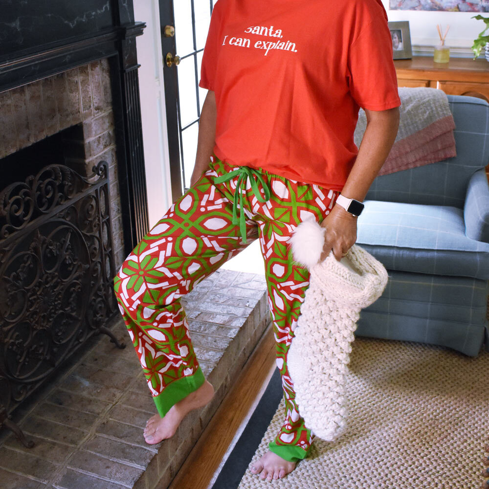 cantina holiday women's lounge pants