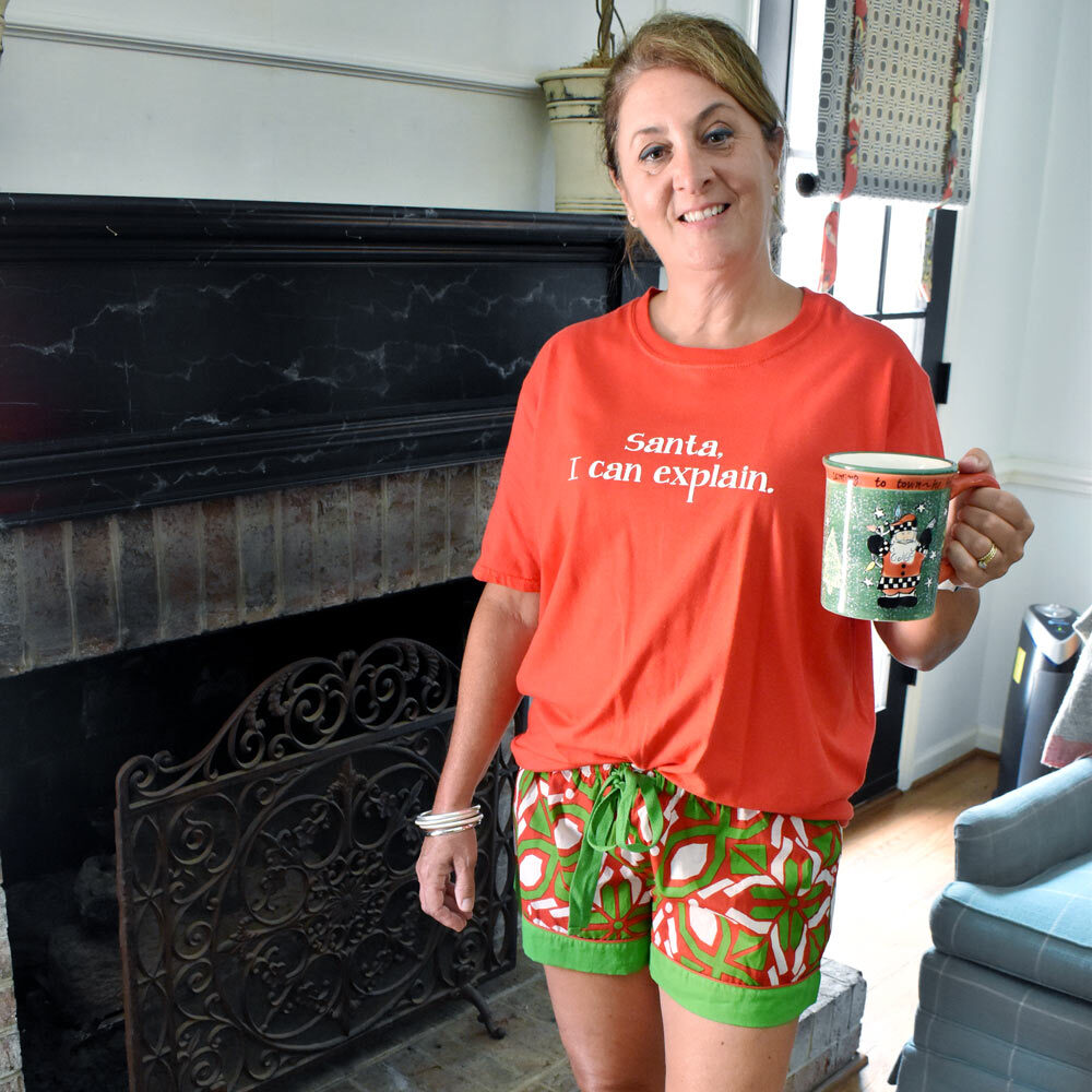 cantina holiday women's lounge shorts