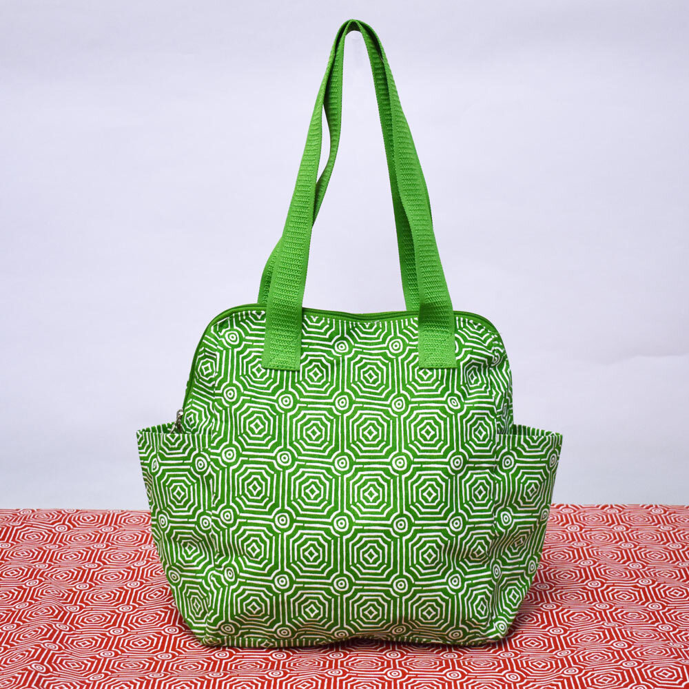 echo green high roller tote