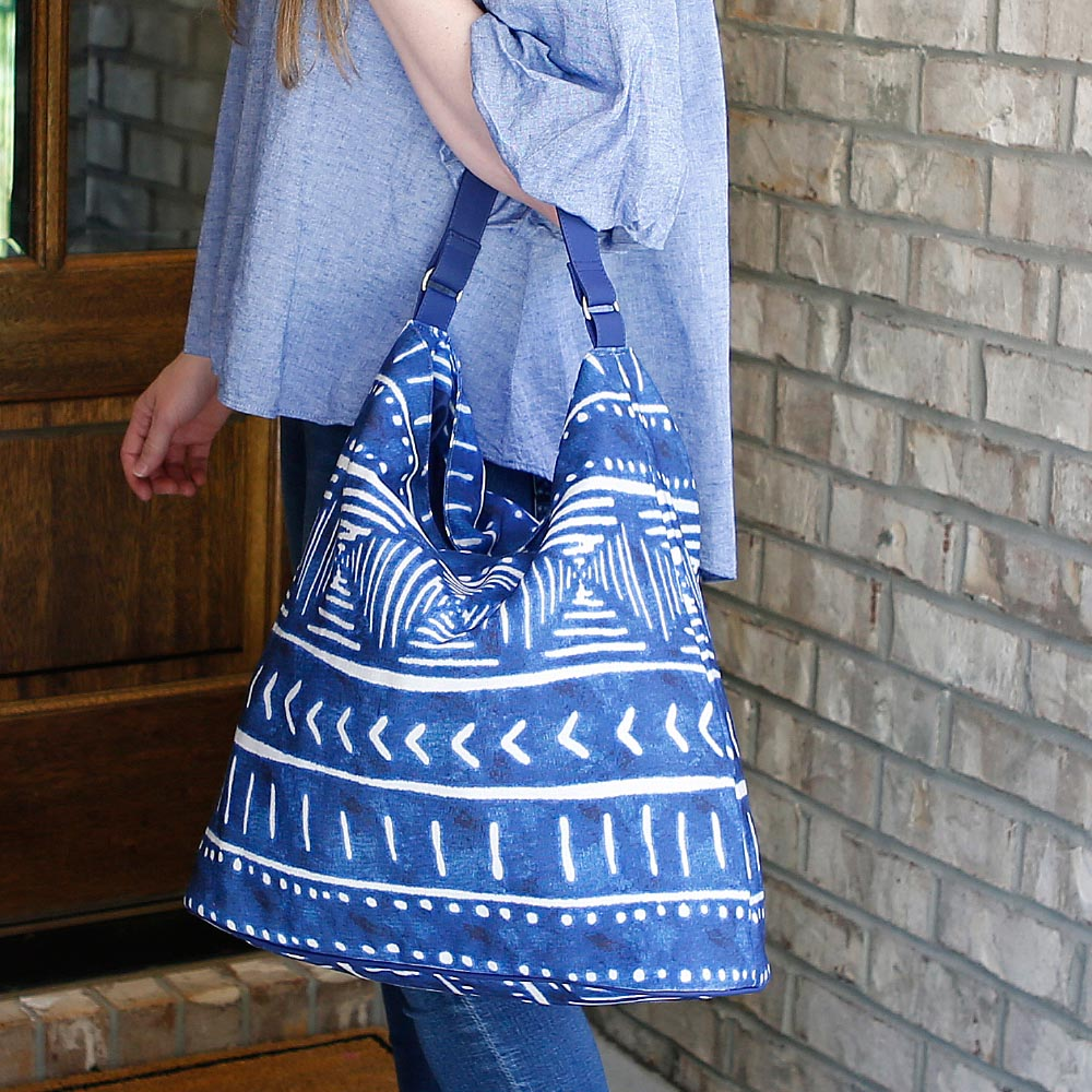 indigo daze bardot bag