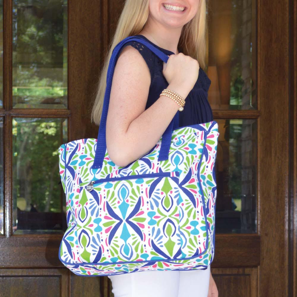 a little off tropic carried away tote