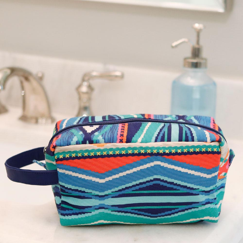 santa fe cosmetic zipper bag