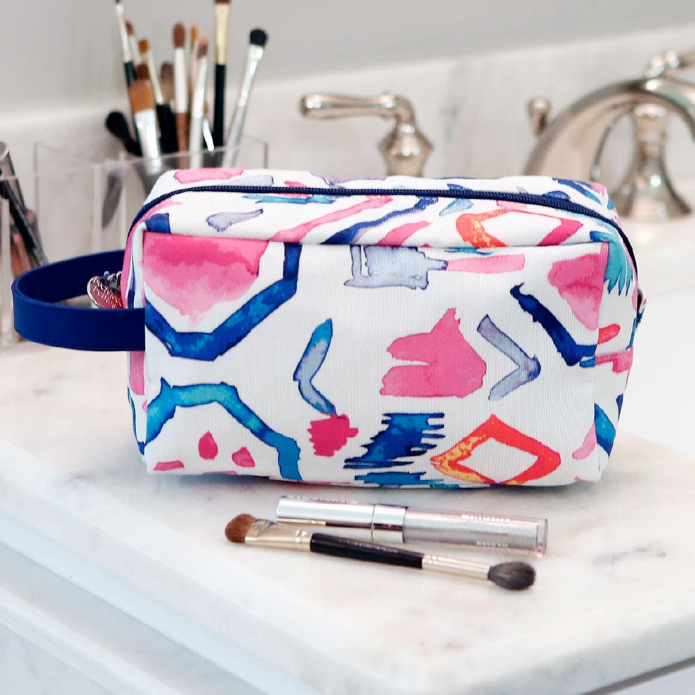 casablanca cosmetic zipper bag