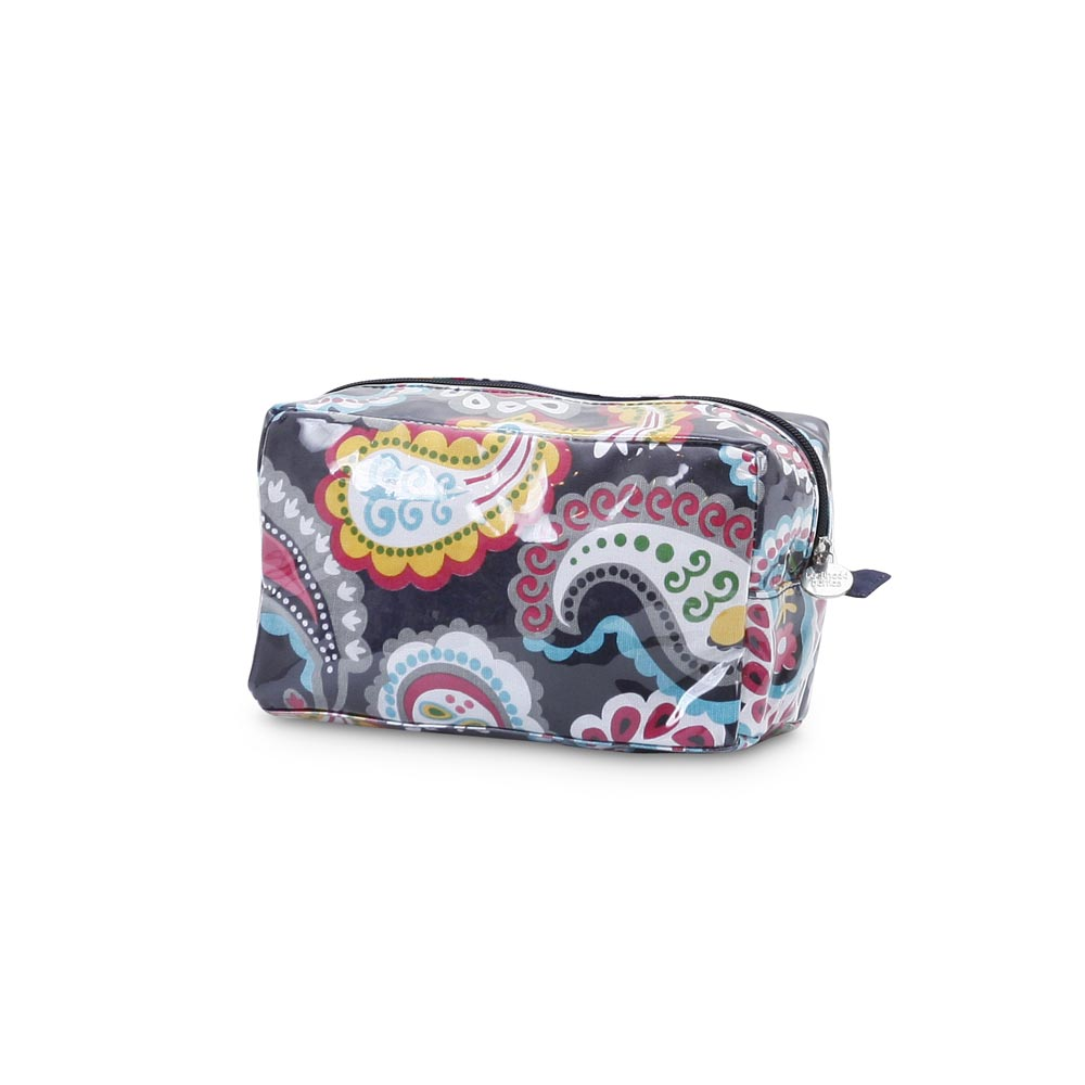 paisley park cosmetic zipper bag