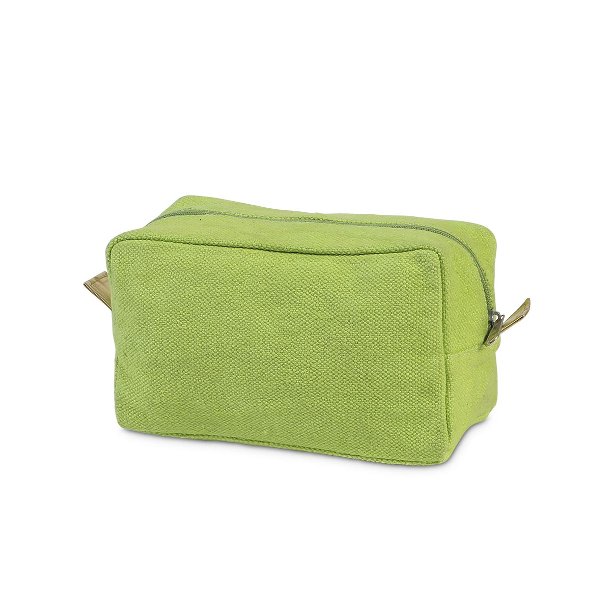 green durry cosmetic zipper bag