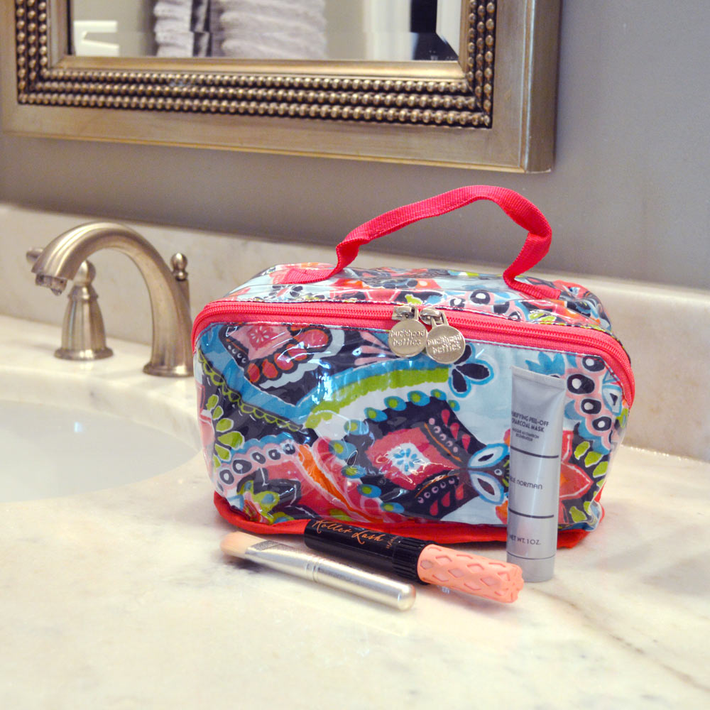moroccan roll counter cosmetic bag