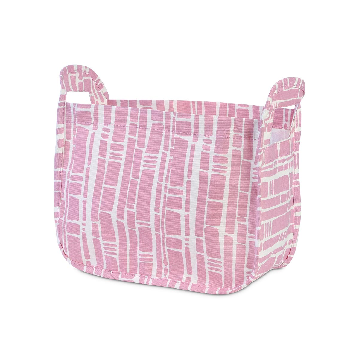 bamboo baby pink caddy