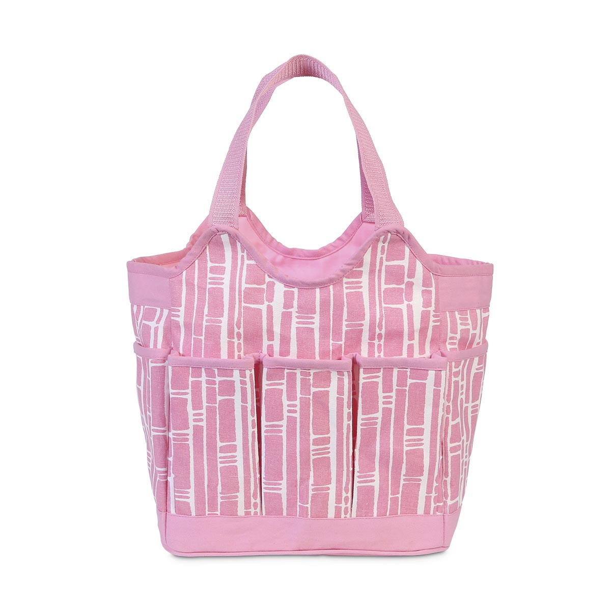 bamboo baby pink canvas everything bag