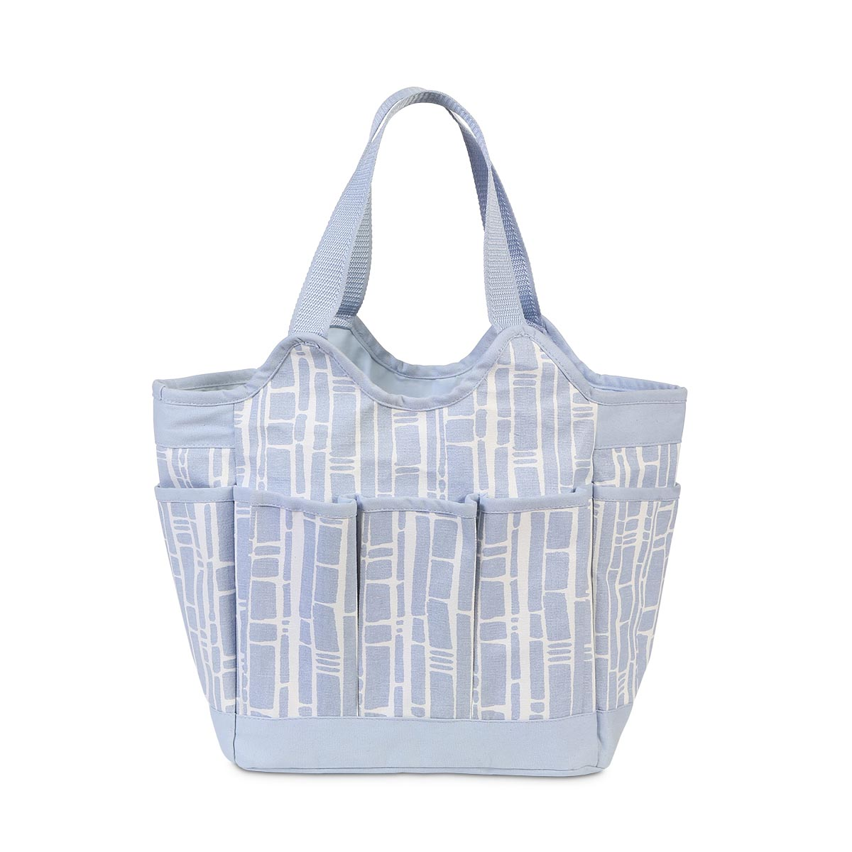 bamboo baby blue canvas everything bag