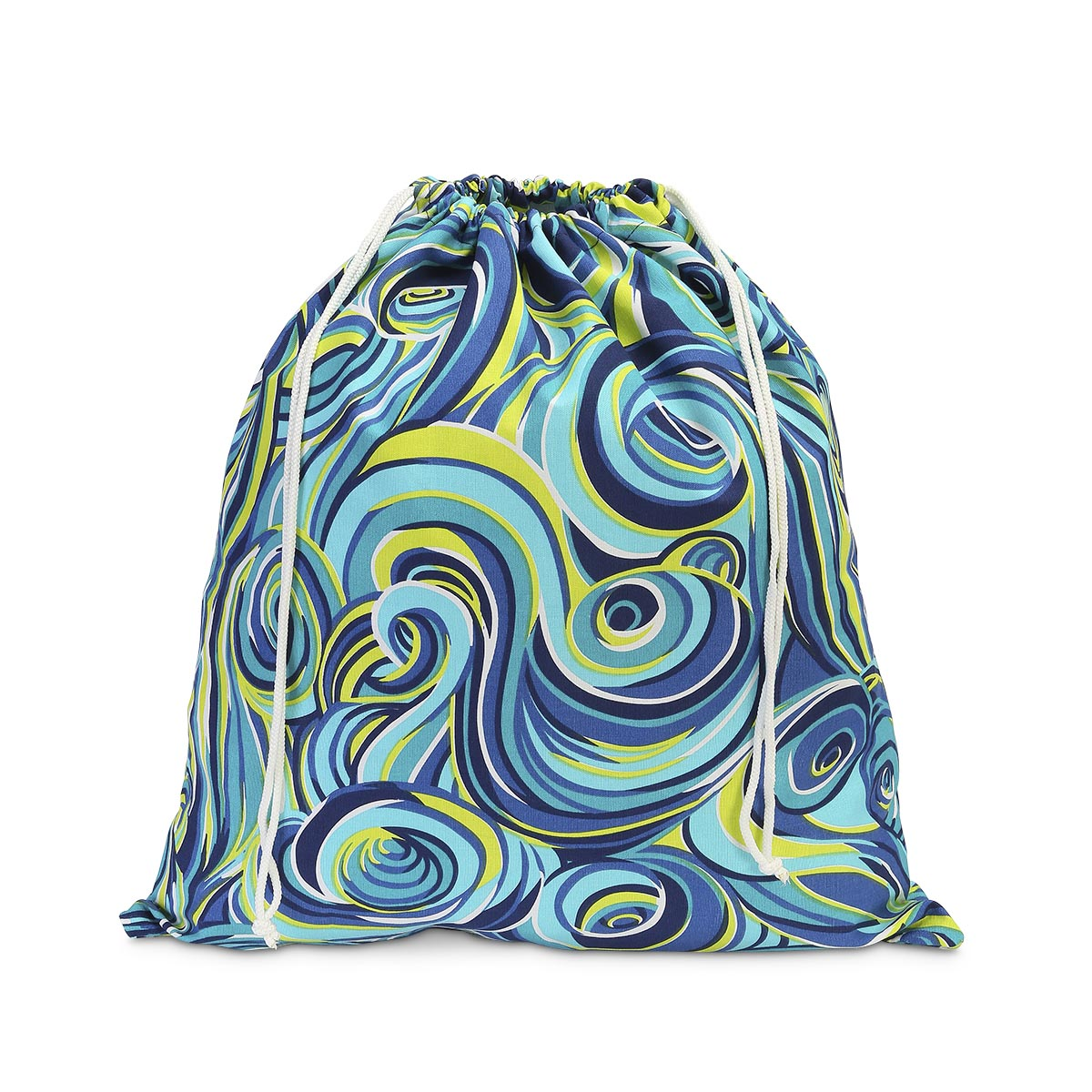 oh swell blue laundry bag