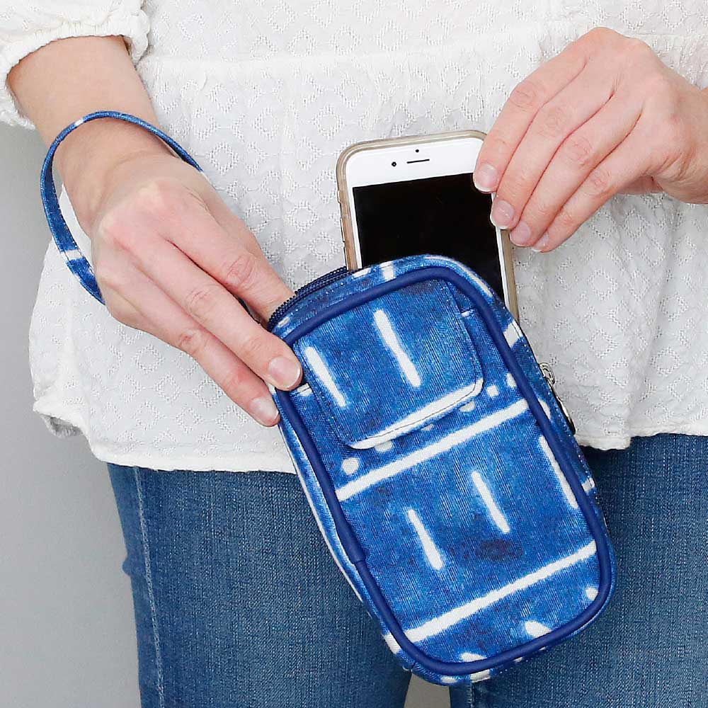 indigo daze cell phone case
