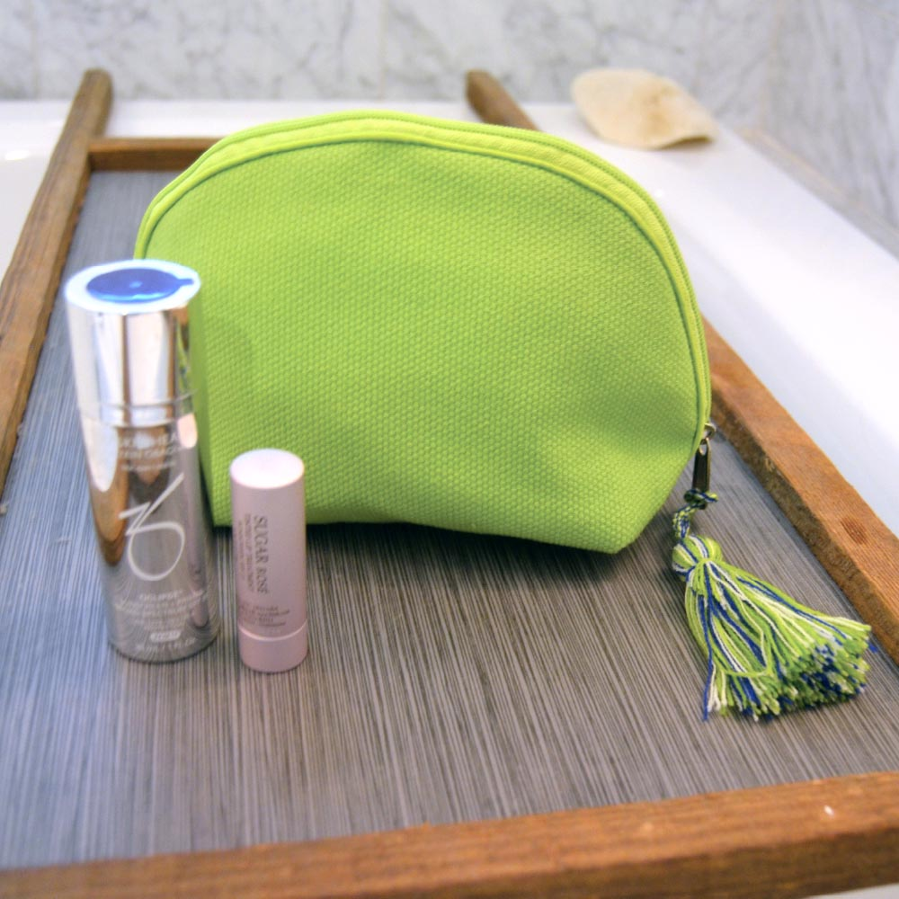 durry cosmetic pouch green