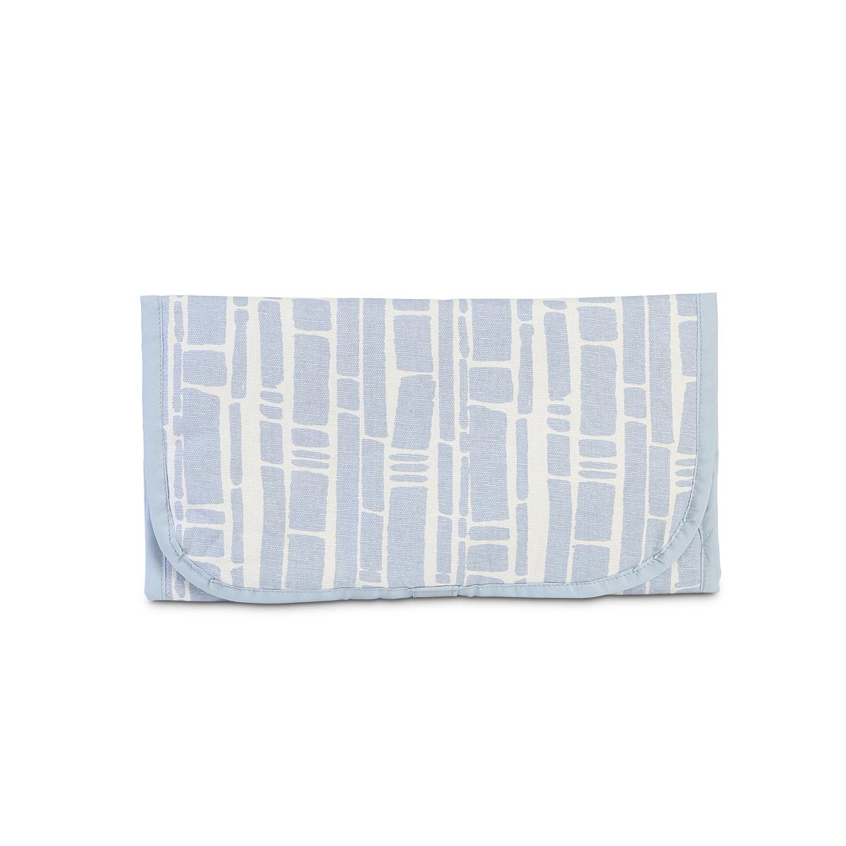 bamboo baby blue changing pad
