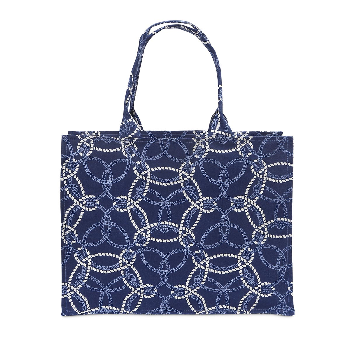 knot-ical canvas tote
