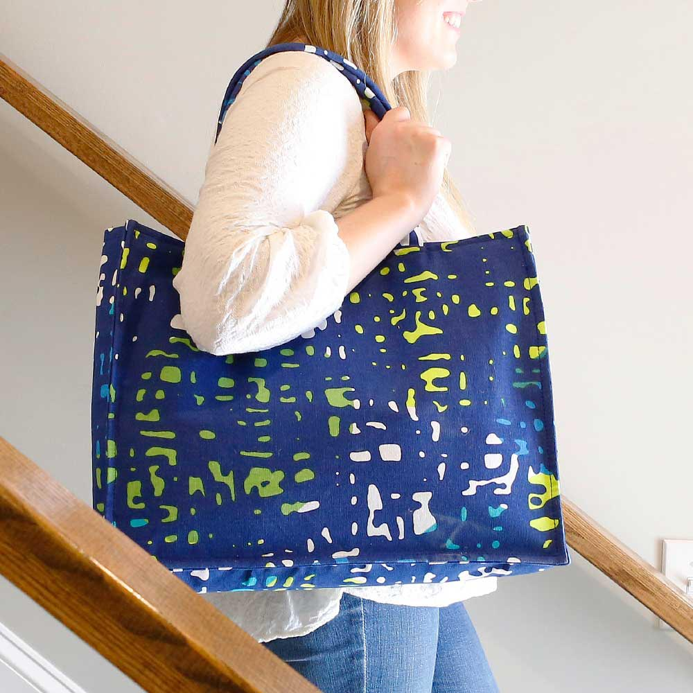under wraps canvas tote