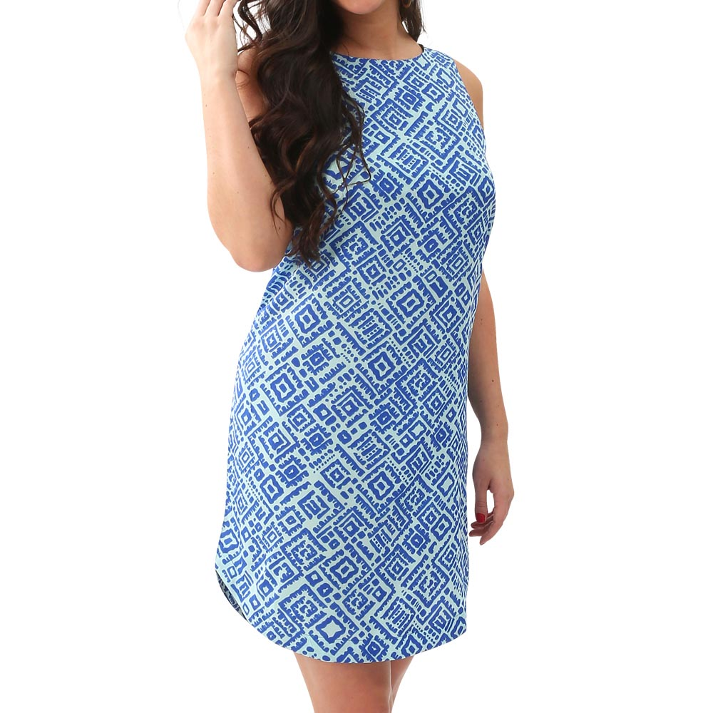 alma blue scarlett dress