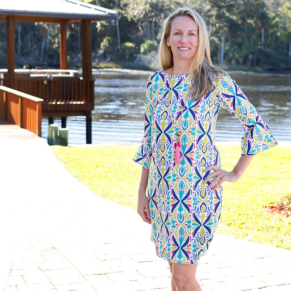 a little off tropic courtney dress