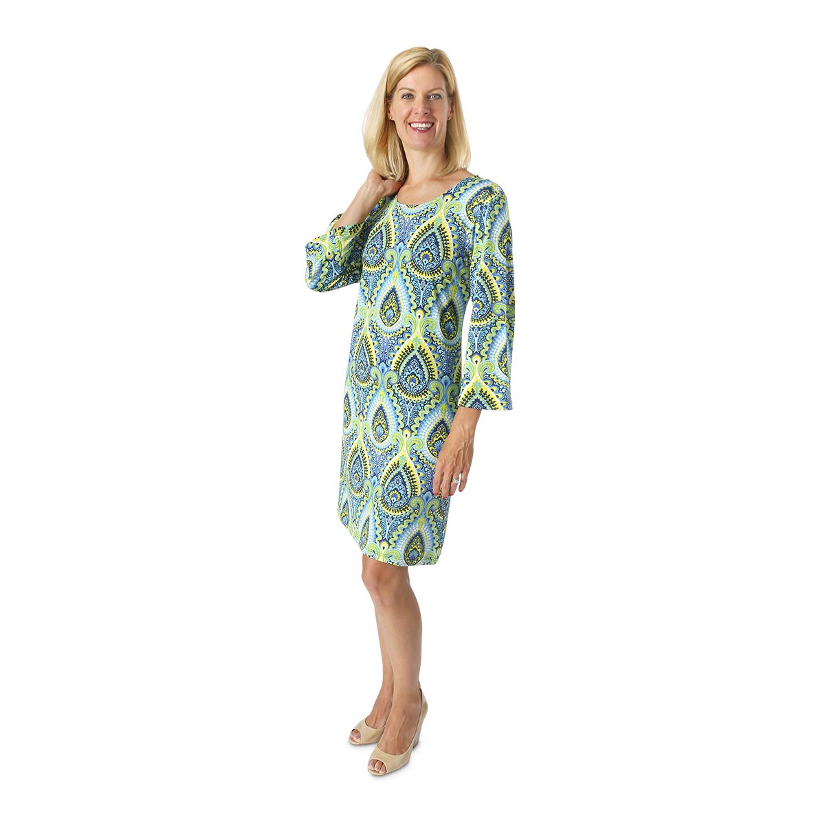 sonoma blue reeves dress