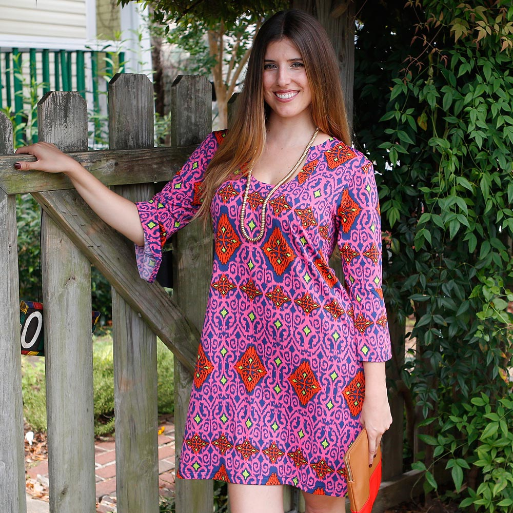 perfect zen maren poly-knit dress