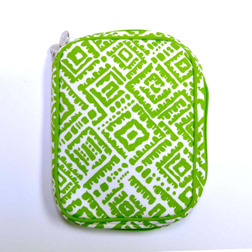 alma lime green electronic cord case