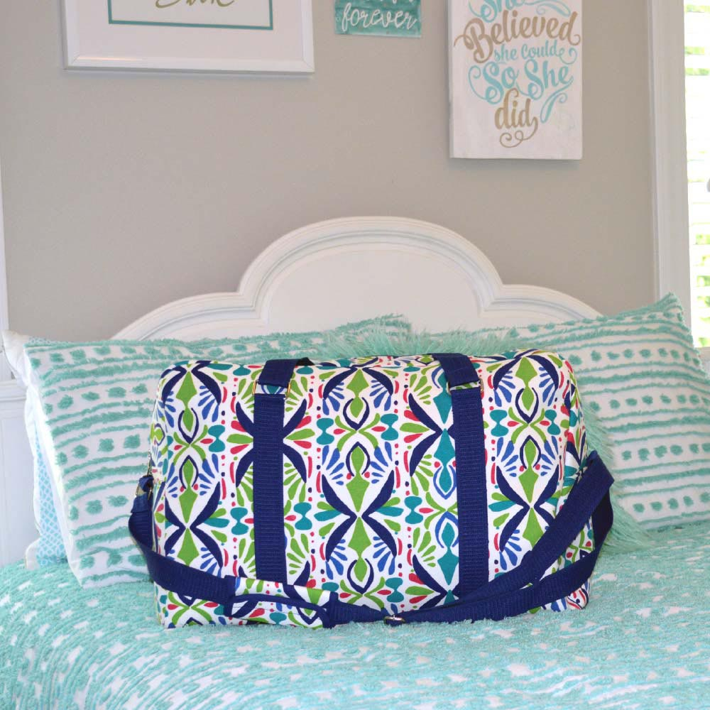 a little off tropic large EVA duffle bag