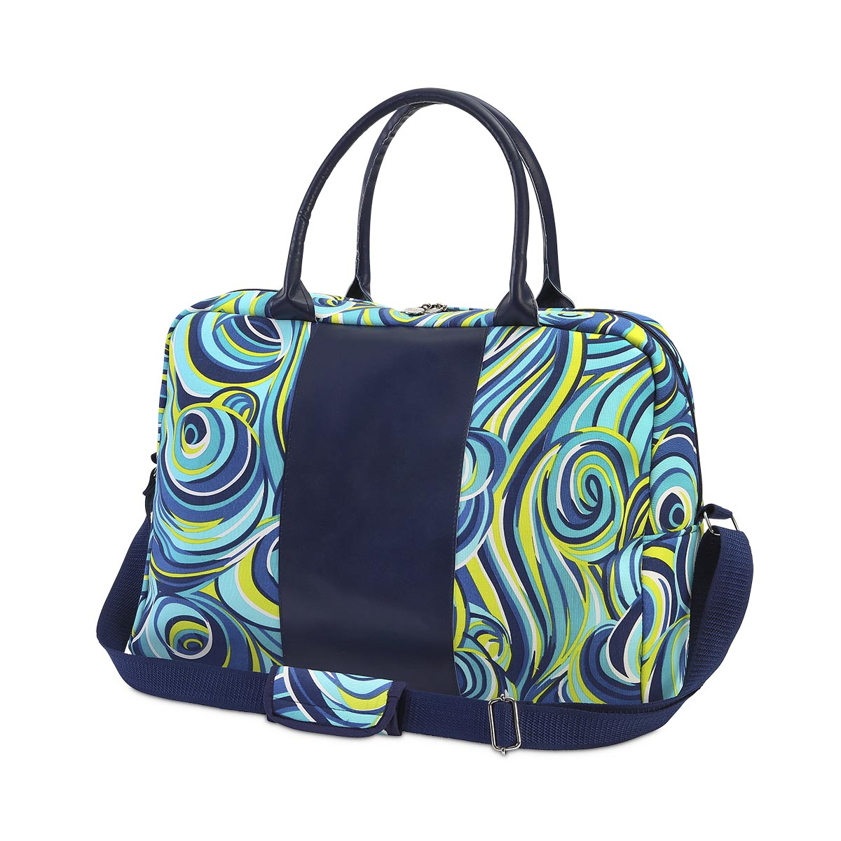 oh swell blue large EVA duffle