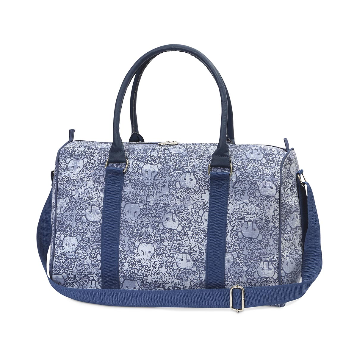 lion around blue EVA medium duffle