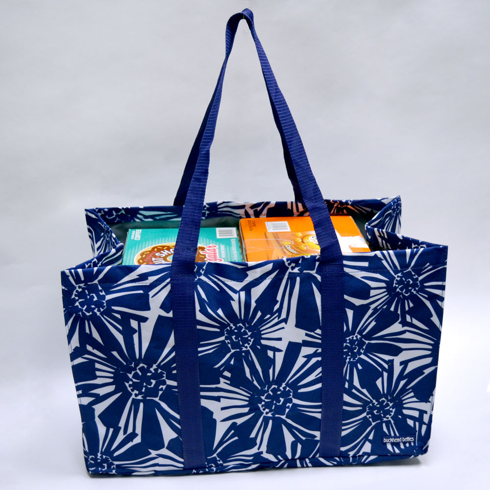 mosaic floral extreme tote