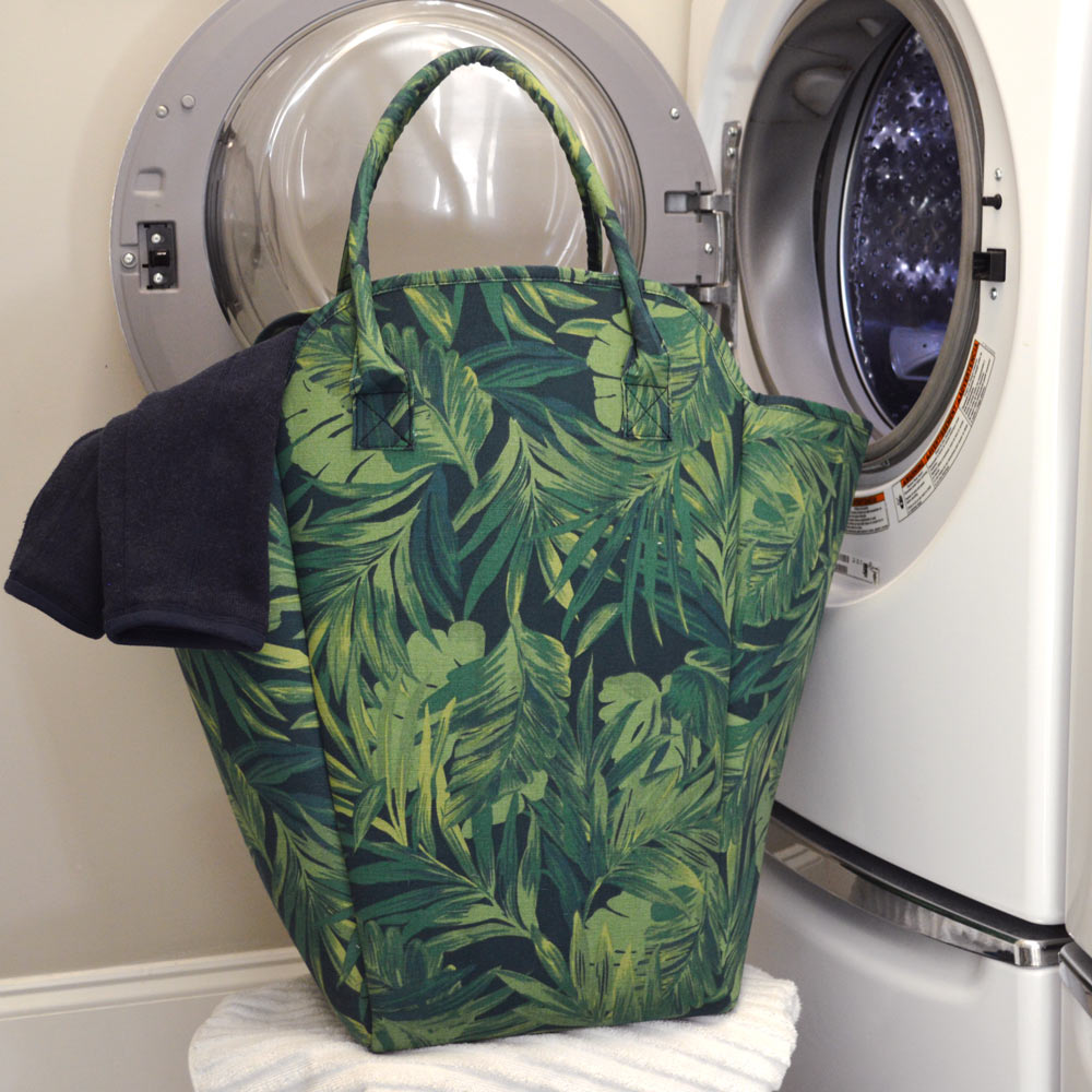 fern beach and laundry EVA tote