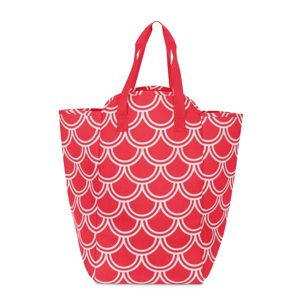harbor bae red EVA heavy weight tote w/ nylon handles
