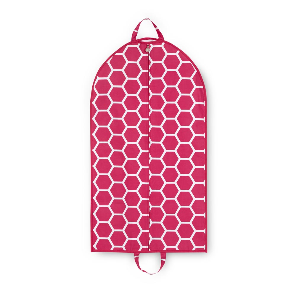 pink bee line garment bag