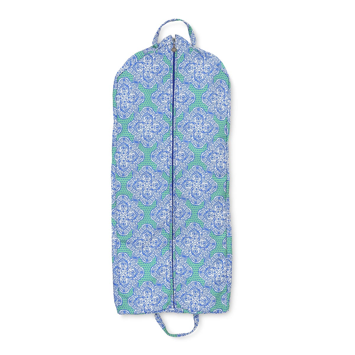 mai tai green/royal garment bag large