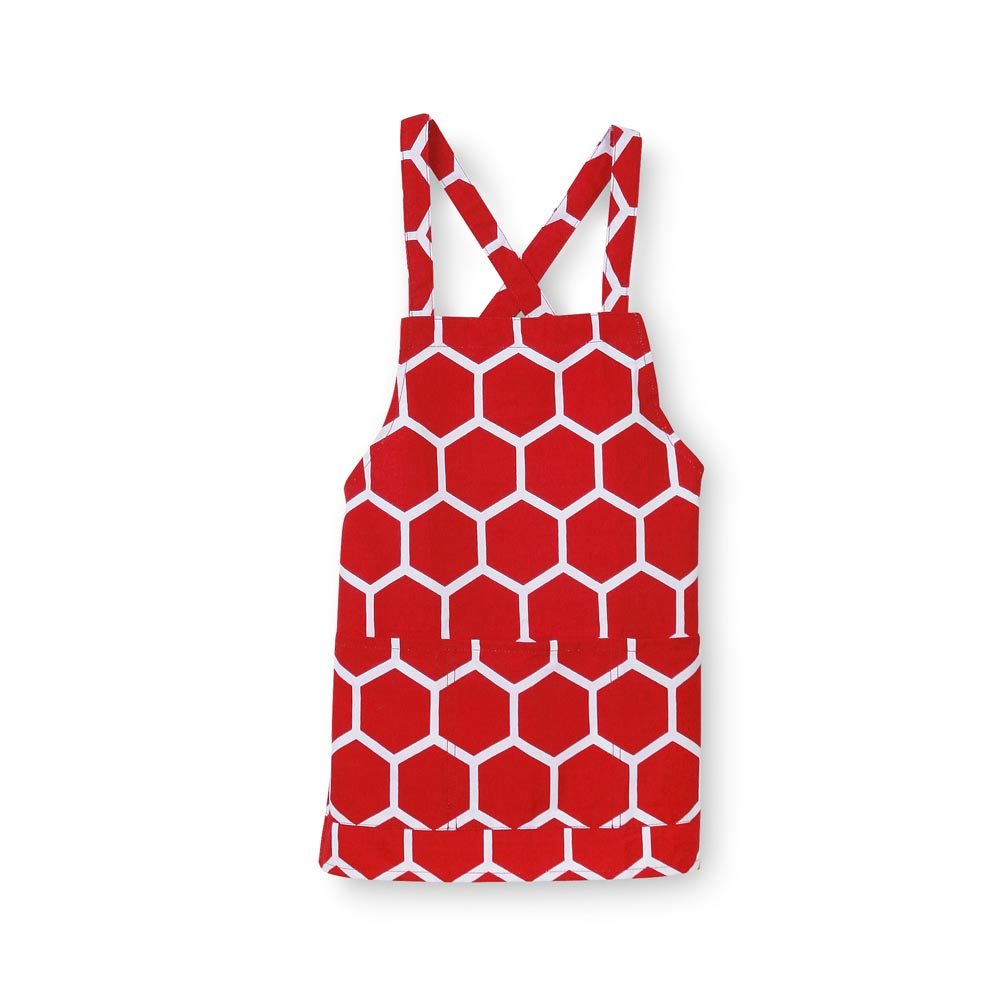 red beeline kids apron