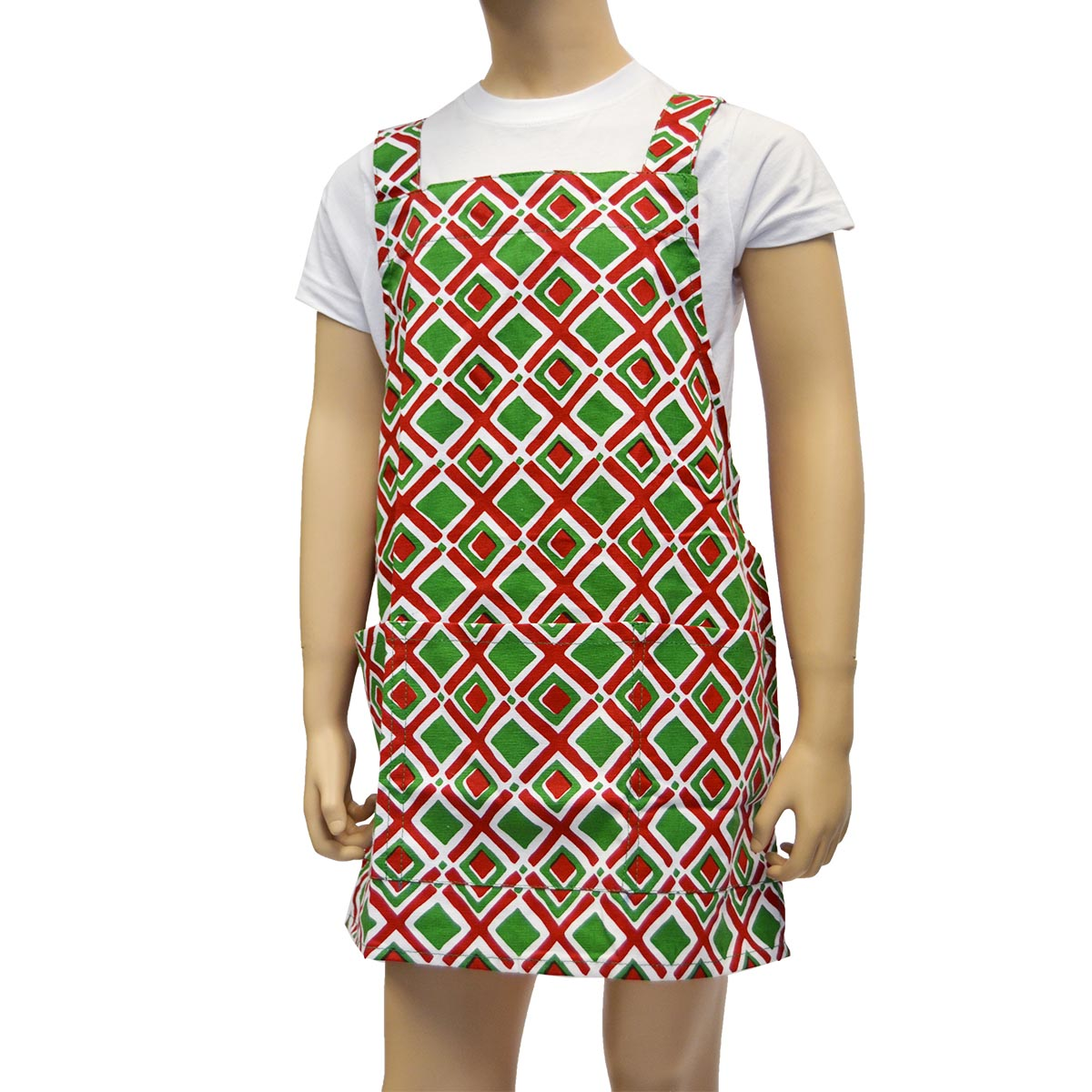 holiday times square kids apron