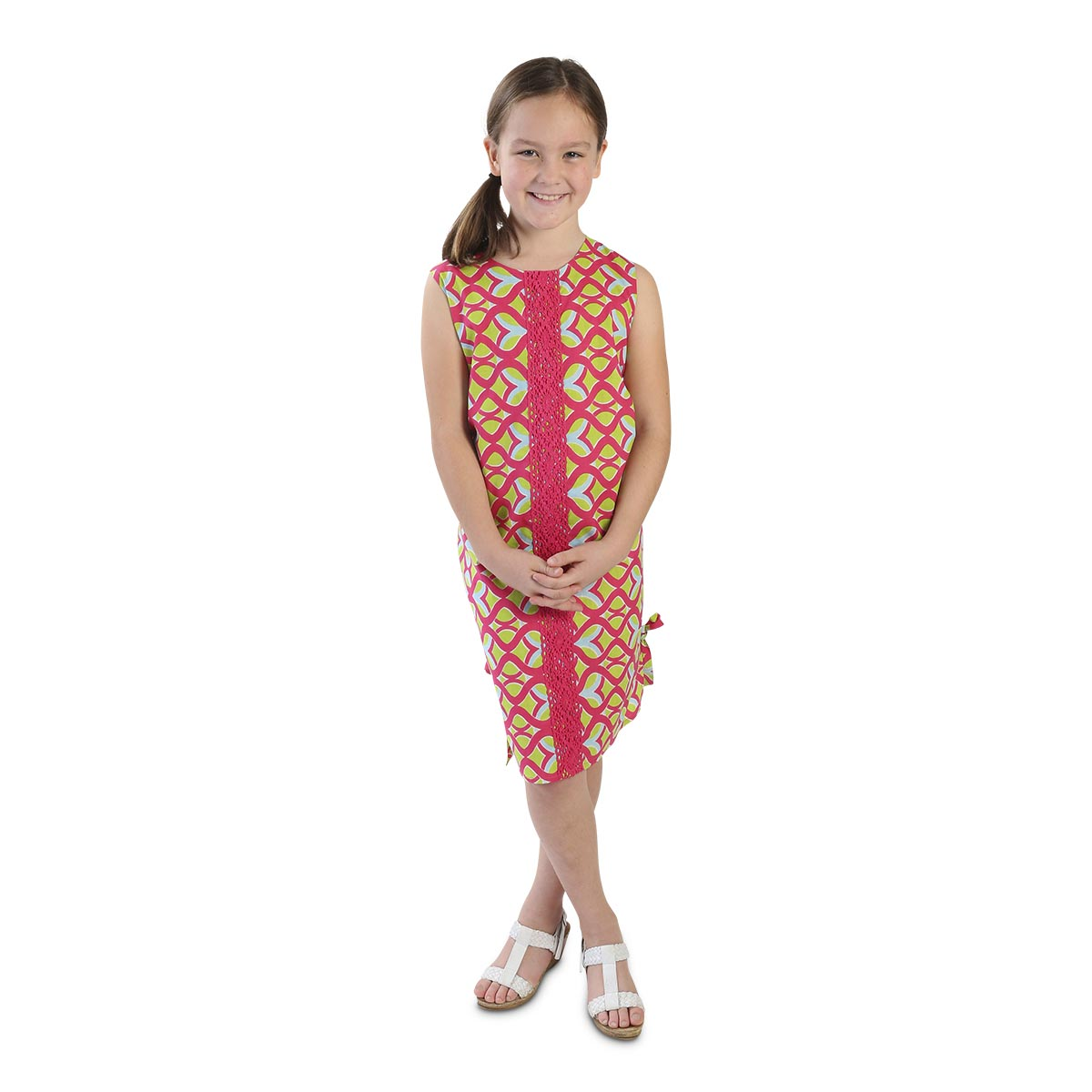 tango twist pink bailey kids dress